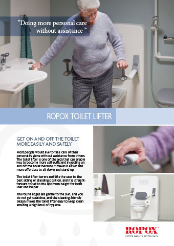 Data leaflet Ropox toilet lifter