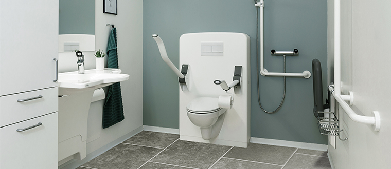 Toilet lifter / Toiletløfter unit