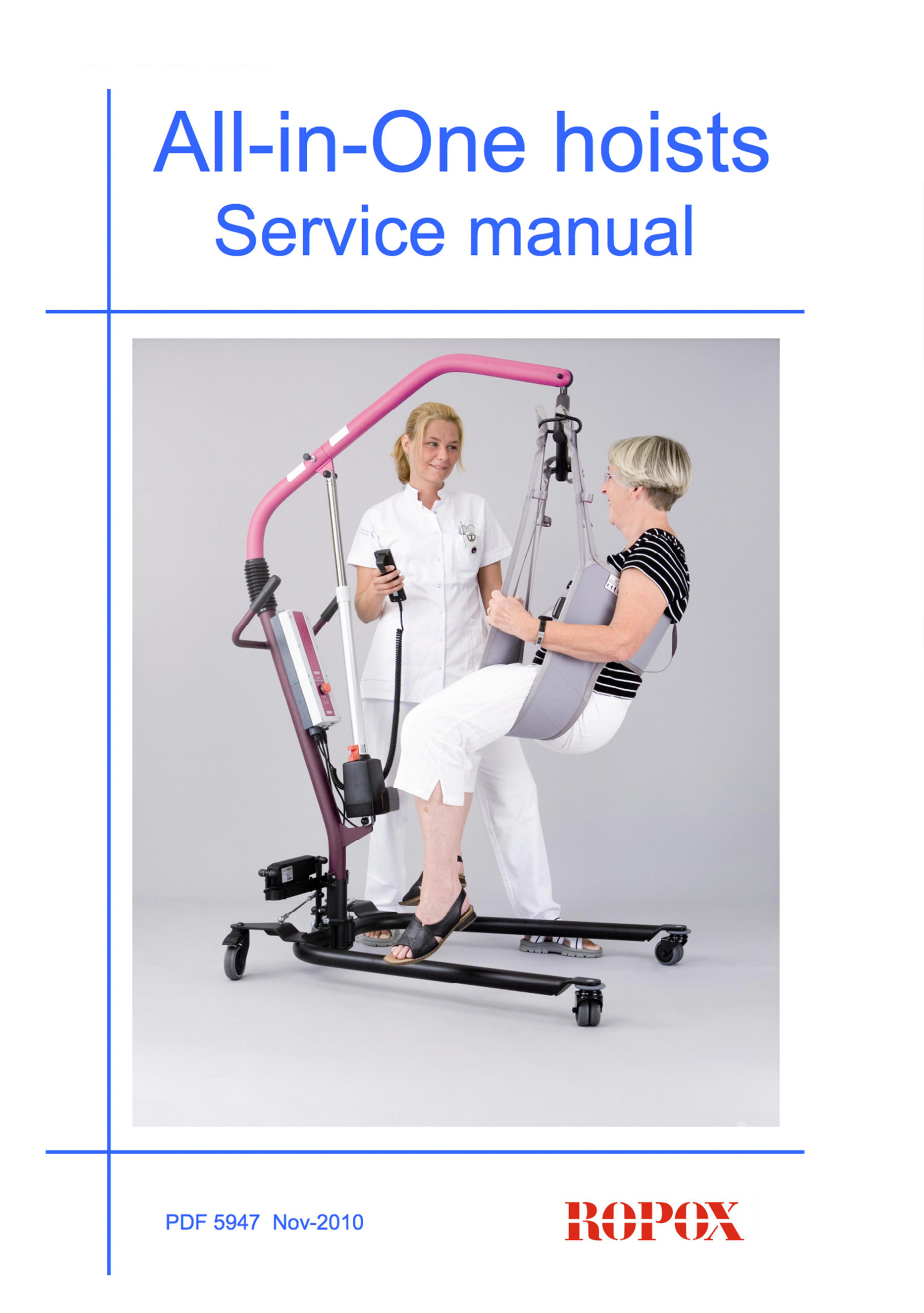 All-in-One hoists Service manual