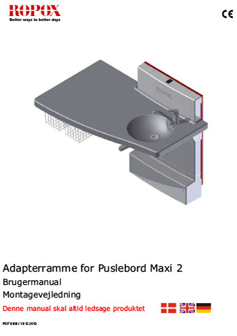 Adapterramme for Puslebord Maxi 2