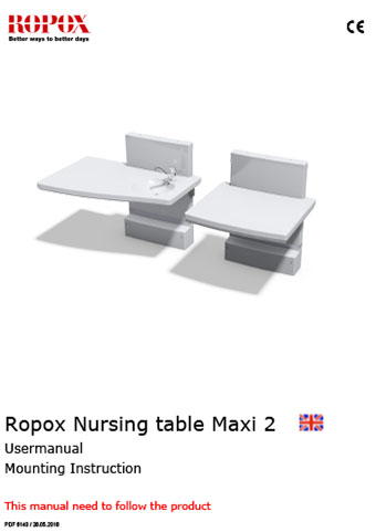 Ropox Nursing table Maxi 2