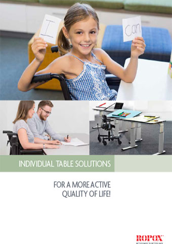 Brochure Ropox Tables Individual table solutions