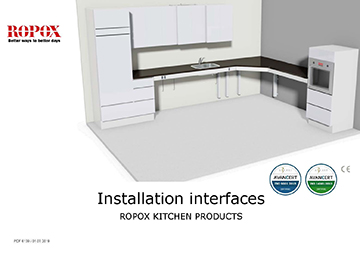 Ropox Installation interfaces kitchen products