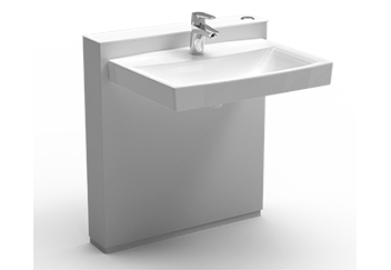 Ropox håndvask designet til brugere med nedsat funktionsevne