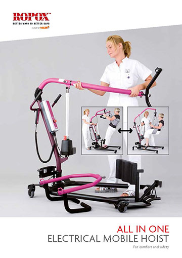 Folder Ropox All-In-One Electrical mobile hoist